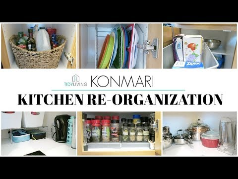 KonMari | How to - Kitchen Organization + Tidy Living Products