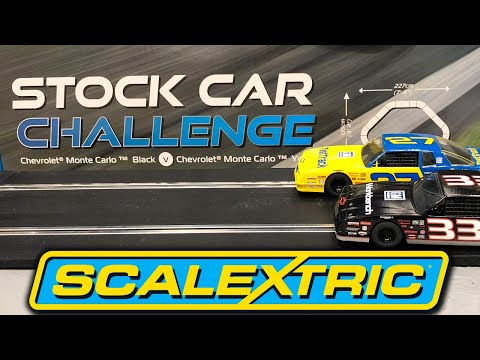 Scalextric Stock Car Challenge Set Design Change