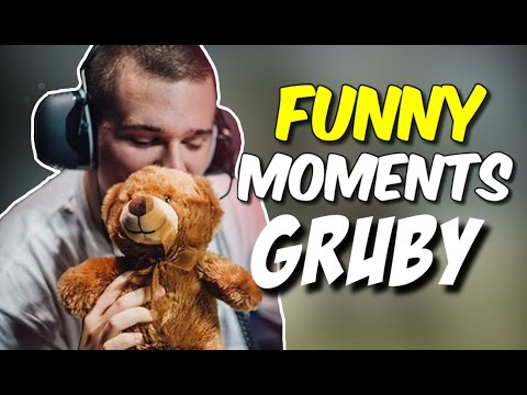 FUNNY MOMENTS GRUBY #3 (Clutch 1vs5, Best Oddshots, Stream Highlights And More) - CS:GO