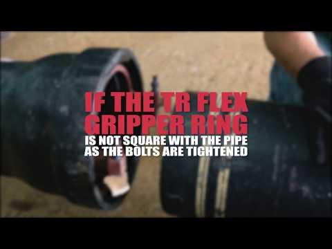 U.S. Pipe: 4 - 20  TR FLEX Gripper Ring Installation