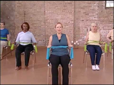 Core Strength Warm Up Chair Exercise Video, Elderly Exercise - YouTube