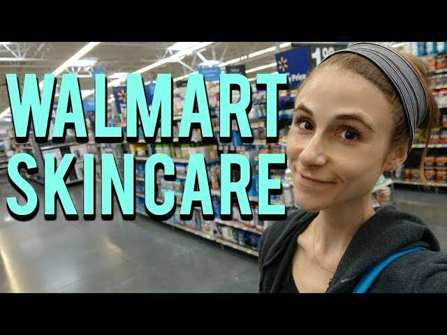 Walmart Skin Care: body & face| Dr Dray