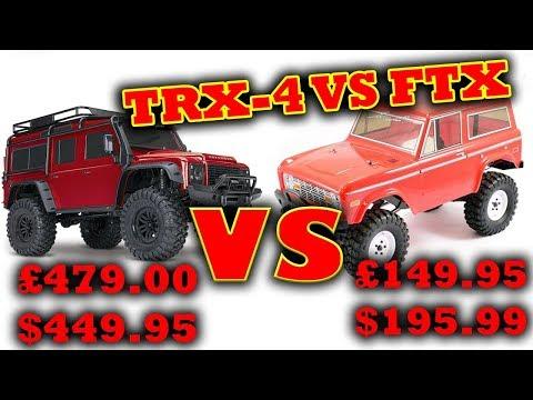 Traxxas TRX-4 vs FTX Outcast Rock Crawlers