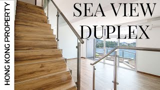 SPLIT LEVEL DUPLEX WITH SEA VIEWS | Hong Kong