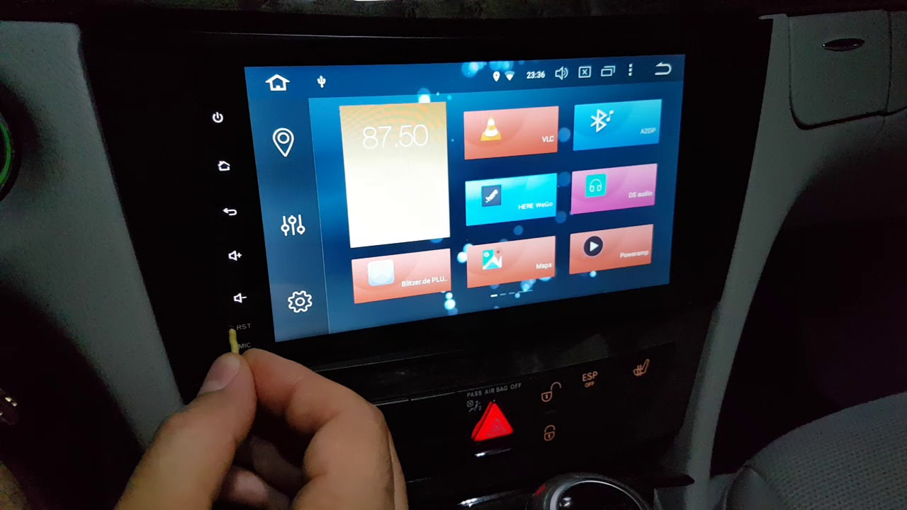 Android Xtrons px5 Radio in Recovery Mode versetzen