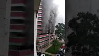 Blk 663 Yishun fire