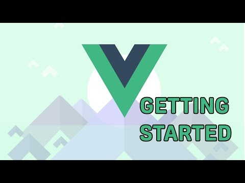 Vue.js 2 - Getting Started - YouTube