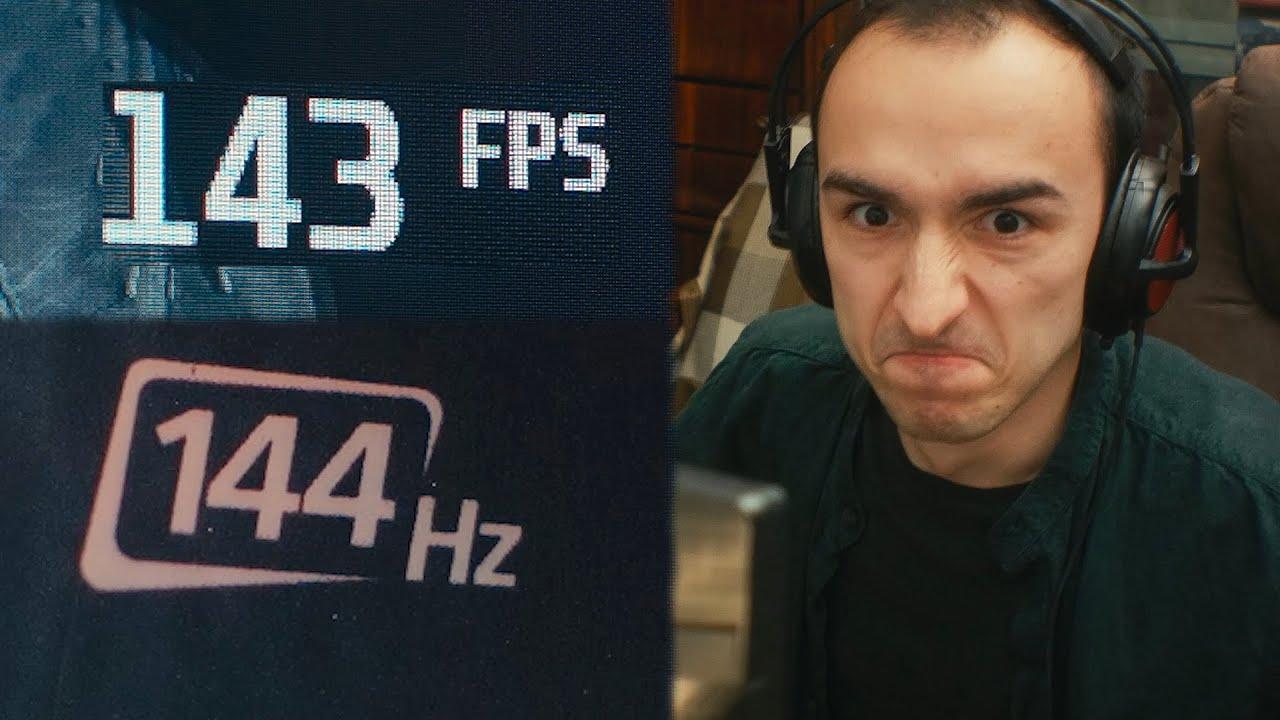 Когда компьютер не тянет 144 FPS