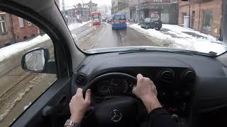 Mercedes Benz Citan 4K POV Test Drive