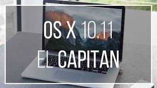 Mac OS X 10.11 El Capitan | Review [Deutsch]