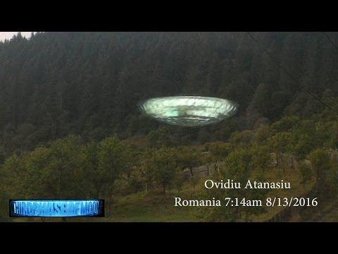 Unexplained Broad Daylight Translucent UFO Romania! VORTEX Russian Portal And Much More! 8/14/2016