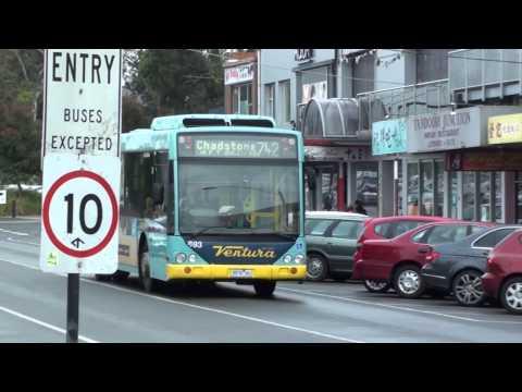 Buses at Glen Waverley station - Melbourne Transport
