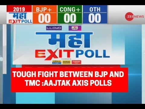 Maha Exit Poll 2019: Tough fight between BJP and TMC in W.B; AAJTAK Axis polls predicts
