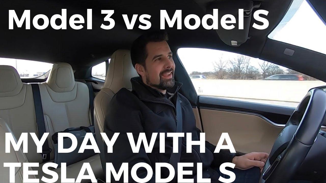 Model 3 vs Model S: My Day With a Tesla Model S Loaner