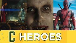 Collider Heroes Episode 17  - BATMAN V SUPERMAN, SUICIDE SQUAD, DEADPOOL, X-MEN Comic Con Trailers