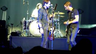 """Silversun Pickups perform """"Three Seed"""" (RARE- No Guitar) live @ the Fox Theatre in Oakland 9/12/2012"""