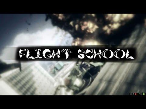 "Grand Theft Auto V Online PC Gameplay ""Flight School"""