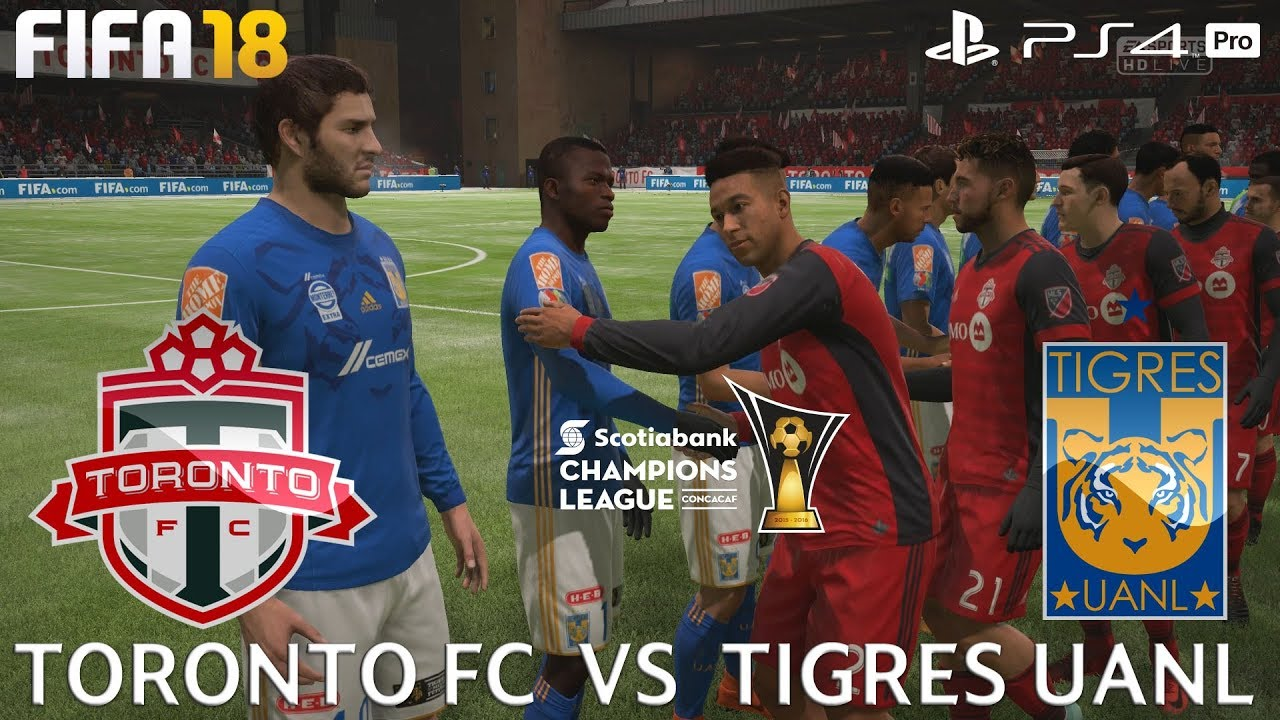 Fifa  Ps Pro Toronto Fc V Tigres Uanl Ccl Prediction  P Fps