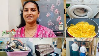 Time Management Tips    Indian Mom 5 to 9 AM Vlog    Carrot Coconut Rice    Telugu Mom