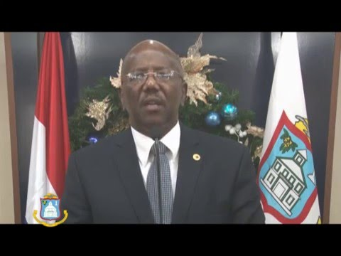 DCOMM SPECIAL:  CHRISTMAS MESSAGE BY PRIME MINISTER WILLIAM MARLIN