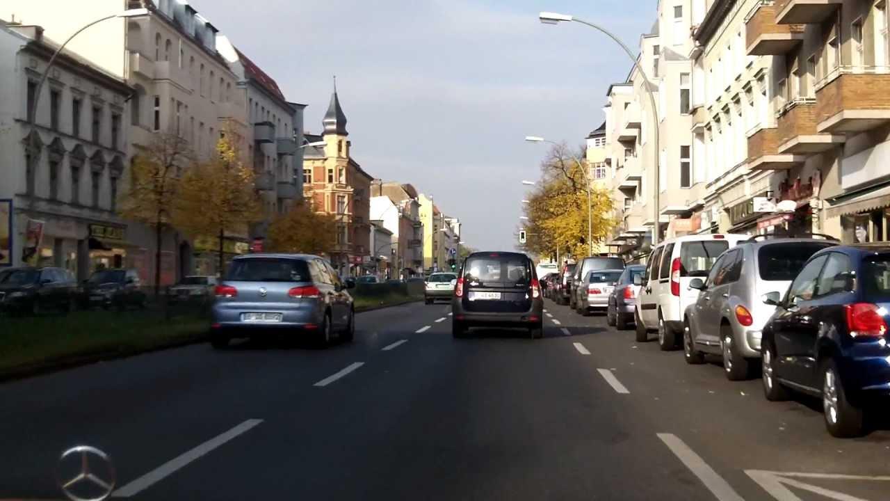 Berlin Tempelhofer Damm Von Alt Mariendorf Bis Kaiserin