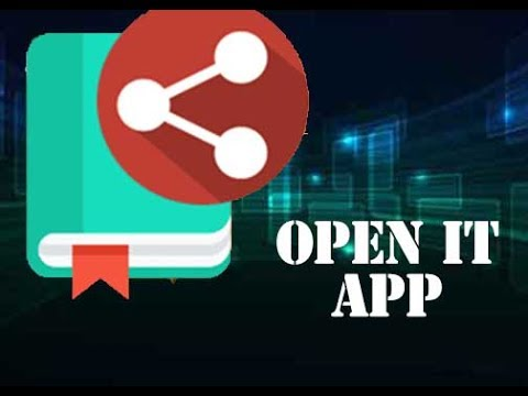 Open content in Your Phone on Your PC With Open It App