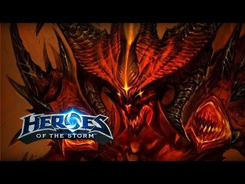 ♥ Heroes of the Storm - Learning Diablo (HotS Gameplay)