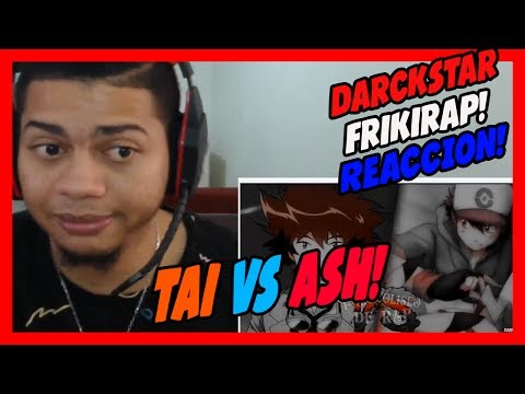 TAI VS ASH - Friki Coliseo De Rap - DarckStar - VIDEO REACCION!!!