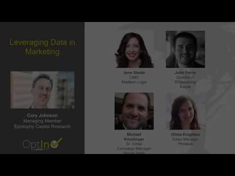 Leveraging Data in Marketing