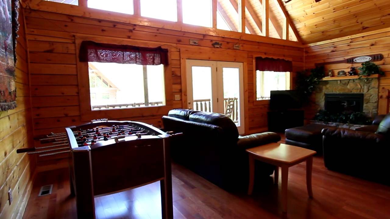 bedroom cabin rental in pigeon forge tn with pool access cabins