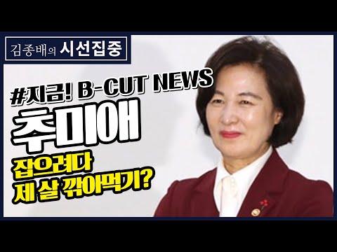 [김종배의 시선집중][지금!대한민국XB-CUT NEWS] '추미애' 빅데이터 여론 / 한국당, 추미애 저격인가 이은재 저격인가 – 배종찬 (인사이트 케이 소장), 이종훈 (작가)