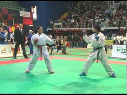 check out c8dec d812f Open D'Italia di Karate Finale U21 53 KG Cividini - Menichetti
