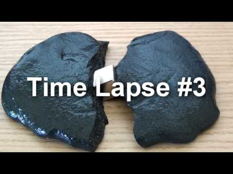 Crazy Aaron's Thinking Putty Strange Attractor time lapses