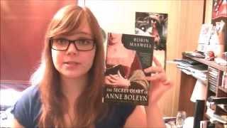 The Secret Diary of Anne Boleyn by Robin Maxwell   Book Review