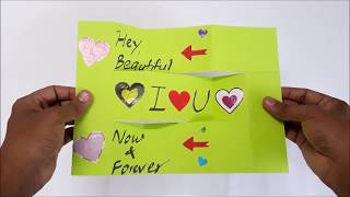 Gambar cover LOVE - Swing Card - step by step -Tutorial