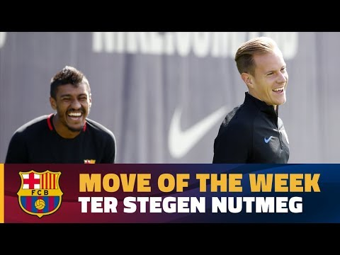 MOVE OF THE WEEK #4 | Ter Stegen nutmegs Paulinho