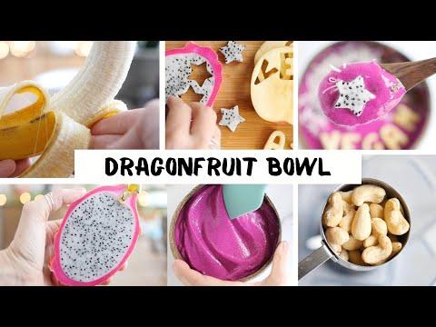 Dragonfruit Bowl �� Unicorn-Style Smoothie Bowl