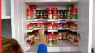 Masterpiece Spicy Shelf Patented Stackable Organizer