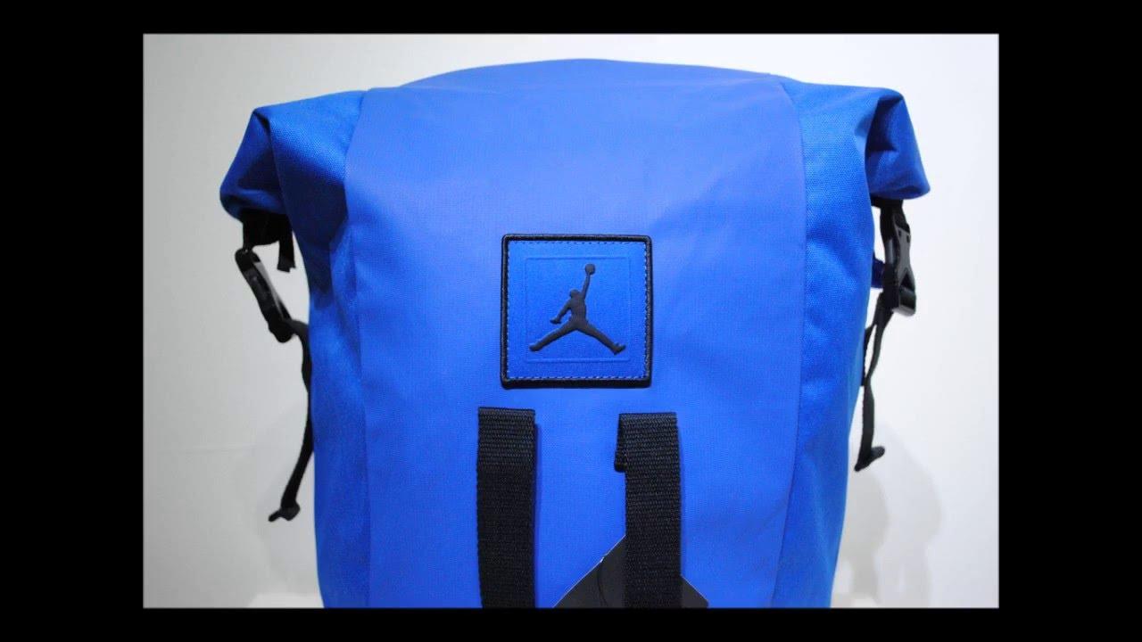 6be82862ebde7b Jordan Jumpman Blue Duffle Bag Product Presentation By Crime Clothing