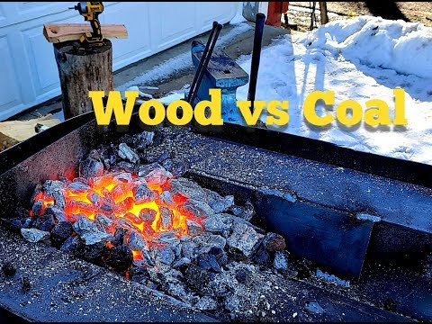 The $50 blacksmith forge part 2 Wood VS Fire