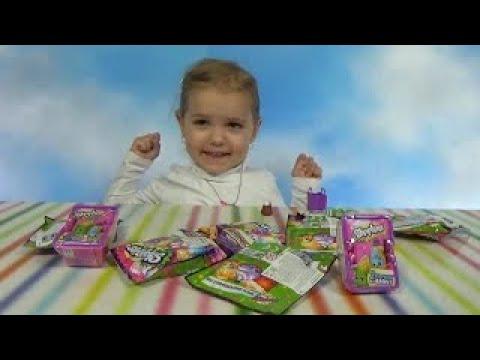 Шопкинсы пакетики с игрушкой сюрприз распаковка Shopkins surprise blind bags with toys