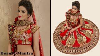 Indian Bridal Makeup - Gold Eye Makeup and Winged Eye Liner Thumbnail