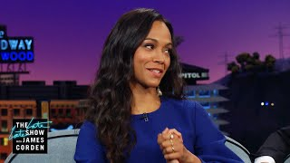 Zoe Saldana's Mom Mixes Her Up with Thandie Newton