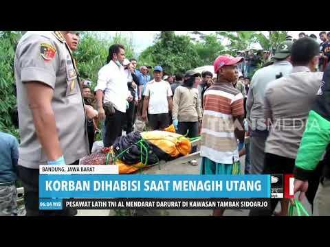 Penagih Hutang Tewas Dibunuh | REDAKSI PAGI (04/02/20)