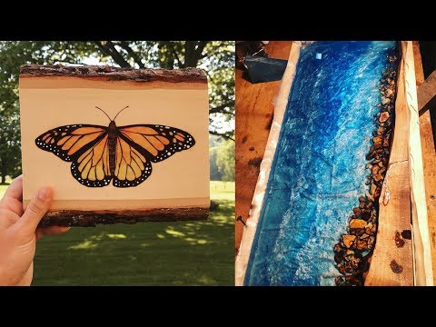 AMAZING WOODCRAFT EPOXY RESIN PROJECTS YOU HAVEN'T SEEN BEFORE