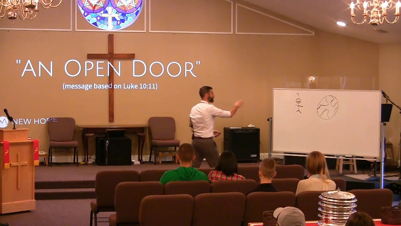 Video Sermons - Luke 10 Verse 11 - A Person of Peace - New Hope Christian Chapel
