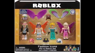 ROBLOX CELEBRITY COLLECTION MIX AND MATCH FASHION ICON SET