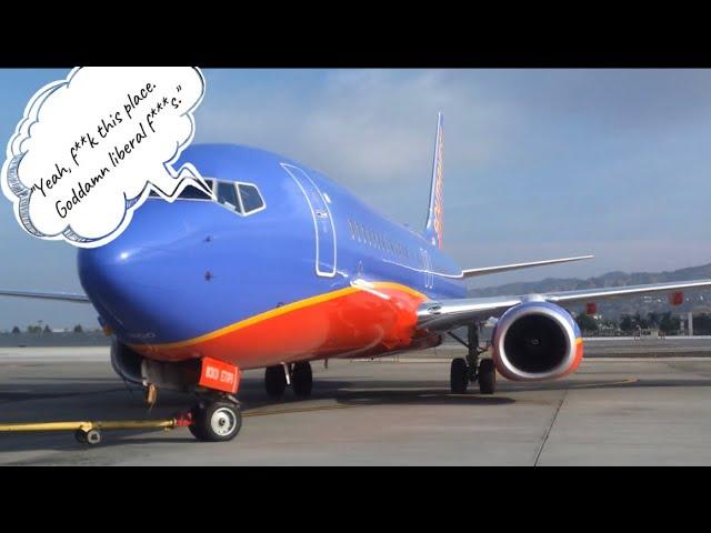 Southwest Pilot's Profane Rant Caught On Audio