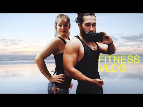 Gym Motivation & Sunday at the Beach ♥