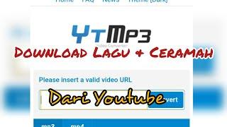 Download Tanpa Aplikasi Download Lagu & Ceramah dari Youtube